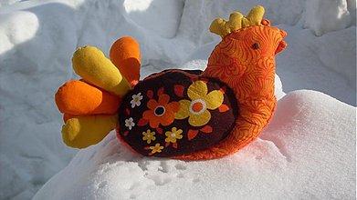 Dekorácie - Košíček-vtáčiky - 1155062