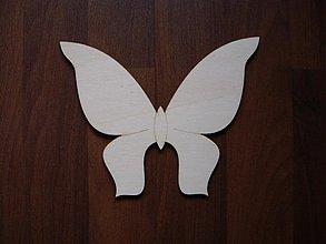 Materiál ručne robený - Motýľ 1 - 1159323