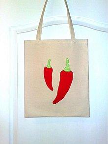 Veľké tašky - I love chilli - 1162589