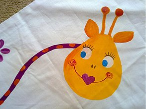 Veľké tašky - taška žirafka - 1163069