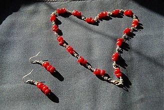 Sady šperkov - Krivé srdce - 1166326