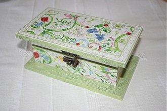 Krabičky - krabička kvety - skladom - 1169369