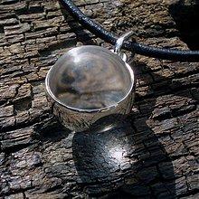 Náhrdelníky - Kříšťálová koule - 1171341