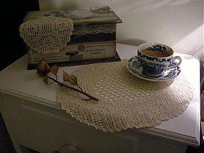 Úžitkový textil - Prestieranie háčkované /2x2/ - 1172352