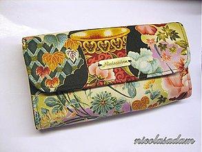 Peňaženky - Peněženka harmonika - s kapsami :) - 1172590