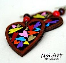 Náušnice - Náušničky Srdiečka sweet - 1175136