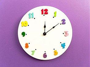Hodiny - hodiny z farebného sveta - 1183117