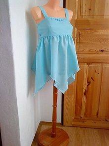 Tehotenské oblečenie - Tunika - pomněnková - 1184578
