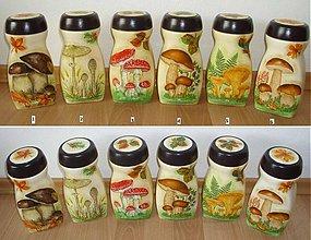 Dekorácie - sada 6 pohárov k ODBERU - 1189815