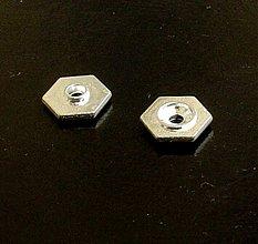 Komponenty - kovové medzikusy/ 2 ks - 1195763