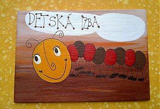 Tabuľky - menovka na dvere -DETSKÁ IZBA - 1196277