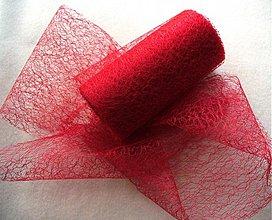 Textil - NOVÁ pavučinková organza/12cm - 1201626