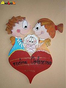 Tabuľky - Menovka rodinka - 1203463