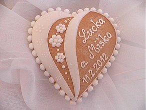 Darčeky pre svadobčanov - Svadobný medovník č.2 - 1207596