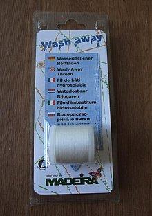 Galantéria - Rozpustné nite Wash Away - 1214351