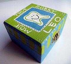 Krabičky - ...na prvé zúbky... - 1220850