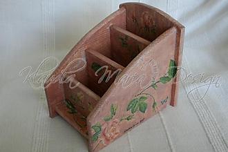 Krabičky - organizér ruže - 1222652