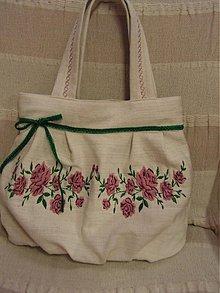 Kabelky - Kytica ruží ..... - 1223590