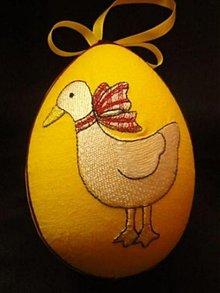 Dekorácie - Veľkonočné vajíčko - 1228505