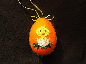 Dekorácie - Veľkonočné vajíčko malé 2 - 1228726