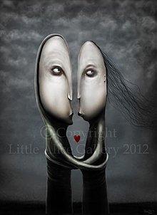 Grafika - Ilustrácia Dvaja - 1230389