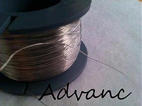 Suroviny - Drôt nerezový 0,3mm 2m N - 1230393