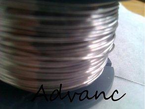 Suroviny - Drôt nerezový 0,5mm 1m N - 1230407