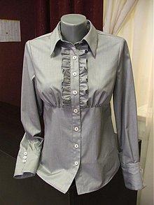 Košele - Duca - Elegantná blúzka z bavlny - 1231624