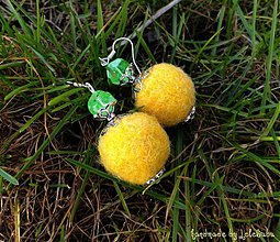Náušnice - Jarné slnko - náušnice - 1232178