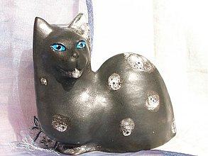 """Dekorácie - mačka  """"modroočka"""" - 1235176"""