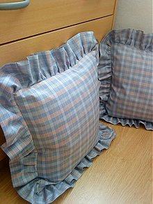 Úžitkový textil - Selské polštáře 2ks-oblečky - 1236607