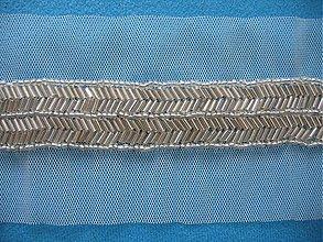 Galantéria - Lemovka korálky 68cm - 1239643