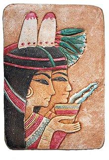 Dekorácie - E33. VZNEŠENÉ EGYPŤANKY - 1247547