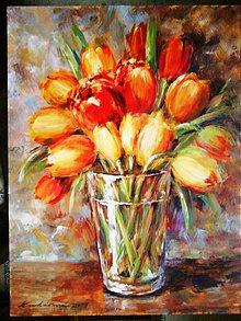 Obrazy - Tulipány - 1253387