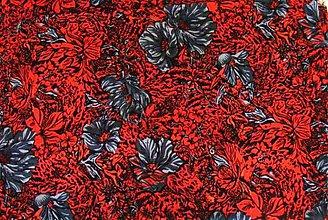 Textil - viskoza -padavá látka na šaty - 1260490