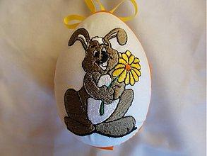 Dekorácie - Veľkonočné vajíčko zajačik - 1261239