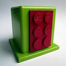 Krabičky - ceruzník pre LEGO maniakov - 1261576