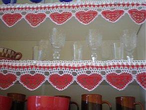 Úžitkový textil - srdiečka v kuchyni - 1266302
