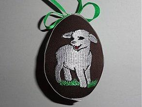Dekorácie - Veľkonočné vajíčko ovečka - 1270796