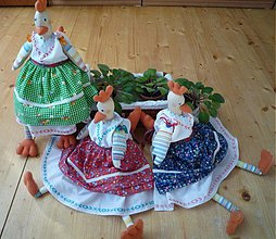Dekorácie - Sliepky - seniorky - 1272138