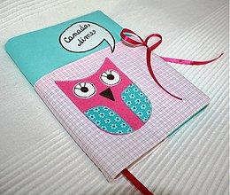 Papiernictvo - Dievčenský sovičkový zápisník - 1279930