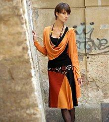Sukne - letní originální sukně Květuše - 1282617