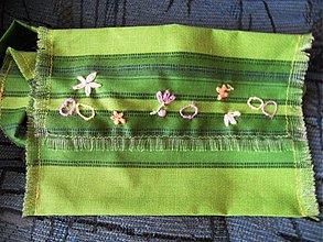 Iné tašky - kapsa pre oblievača zelená - 1283615
