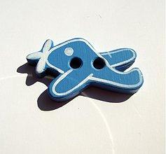 Materiál ručne robený - gOmbík lietadielko - 1288023