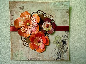 Papiernictvo - Rozkvitnuté spomienky - 1289908