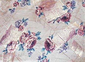 Textil - viskoza-padavá letná látka - 1289996