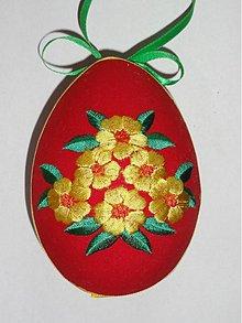 Dekorácie - Veľkonočné vajíčko kvietky - 1295452