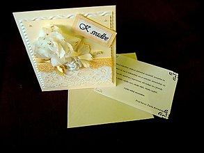 Papiernictvo - Pohľadnička pre nežnú nevestu - 1299496