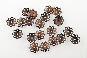 Komponenty - KAP699, KAPLÍK 10mm MEDENÝ /20ks - 1300003