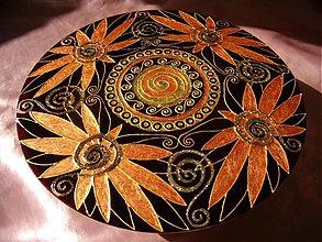 Dekorácie - Spiral Mandala - 1301608